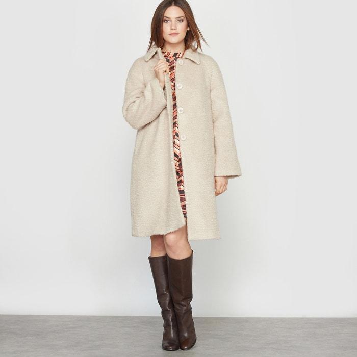 Image Bouclé Fabric Coat CASTALUNA