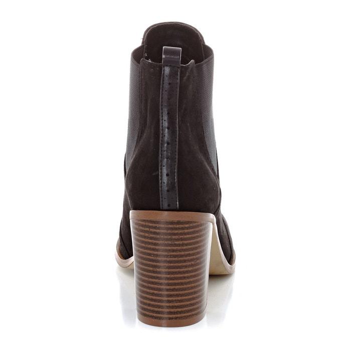 Boots synthétique noir La Redoute Collections
