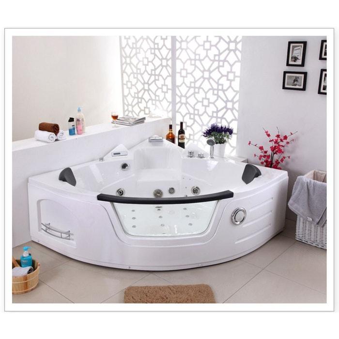scala baignoire baln o 16 jets de massage blanc concept. Black Bedroom Furniture Sets. Home Design Ideas