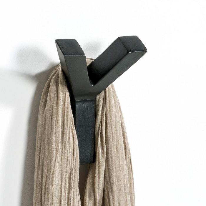 Portemanteau Patère Rama Noir Noir AmPm La Redoute - Porte manteau patere