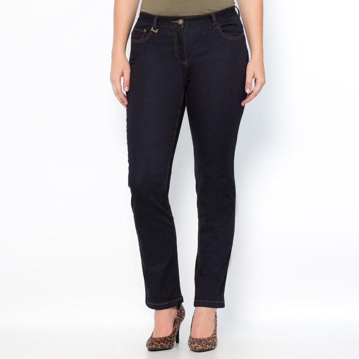"""afbeelding Rechte stretch jeans """"weelderige rondingen"""" binnenpijplengte 78 cm CASTALUNA"""