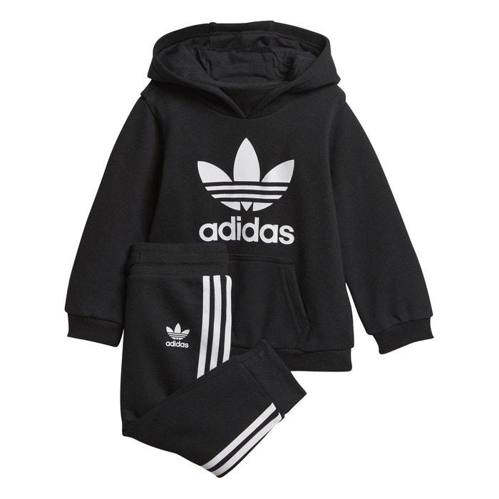0d4fe12fff2f6 Survêtement 0 3 mois - 3 4 ans noir Adidas Originals   La Redoute