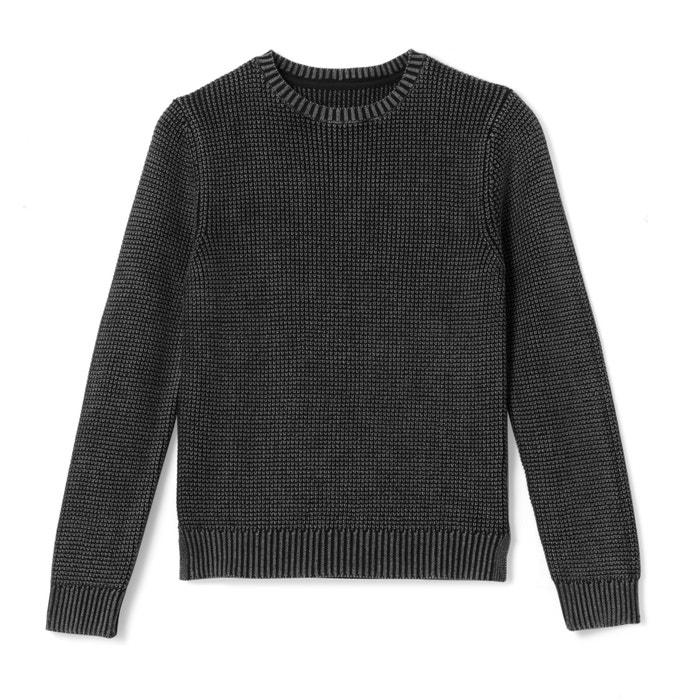 Pull scollo rotondo maglia fine 10 - 16 anni  La Redoute Collections image 0