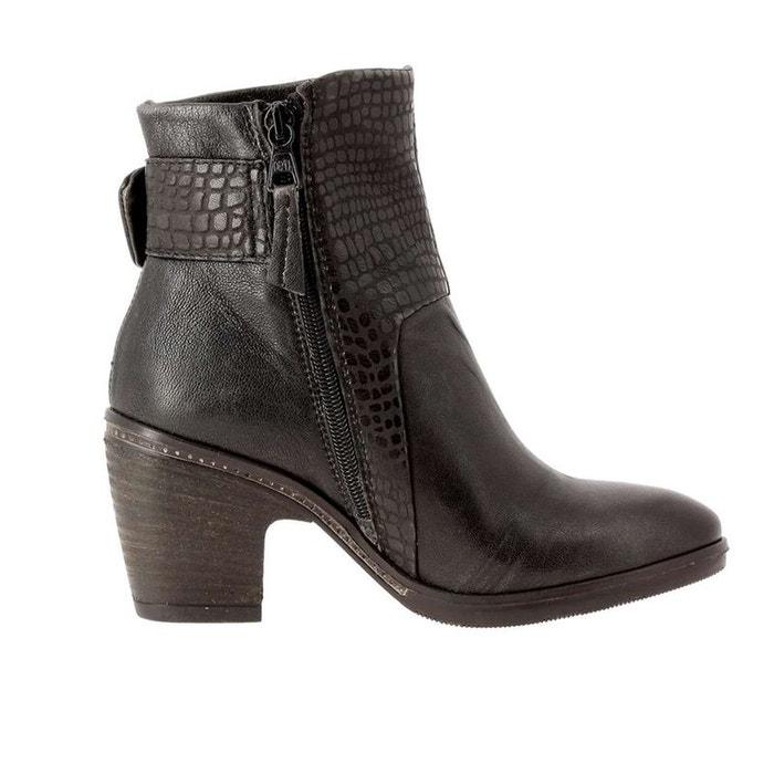 Bottines / boots cuir noir Mjus Moins De 70 Dollars 02Xbw