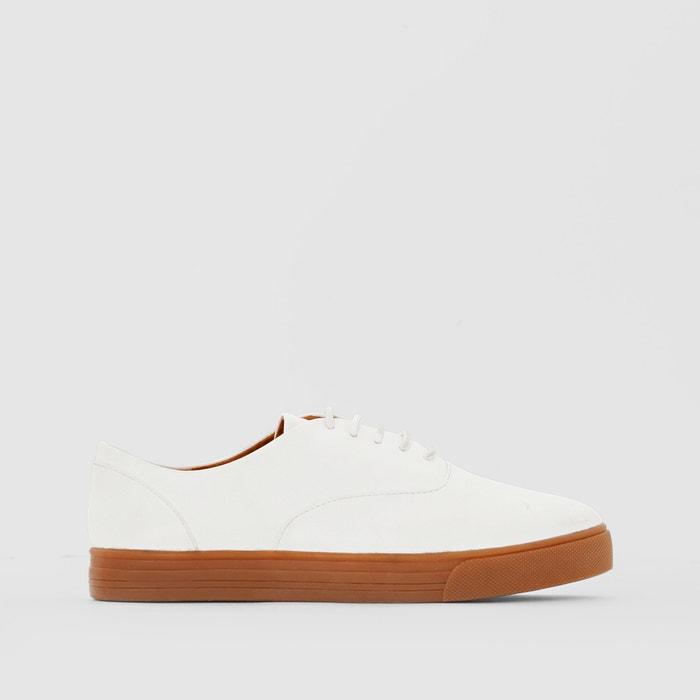 Bild Leder-Sneakers, dicke Sohle R essentiel