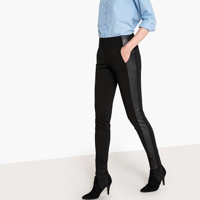 Pantalon slim bi-matière  La Redoute Collections image 0