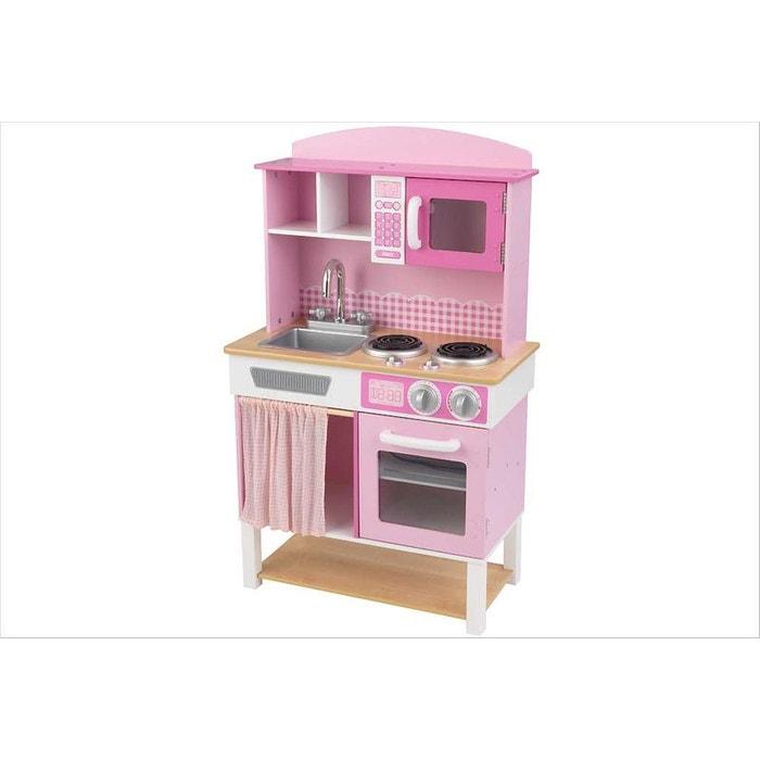 cuisine familiale kid53198 rose kidkraft la redoute. Black Bedroom Furniture Sets. Home Design Ideas