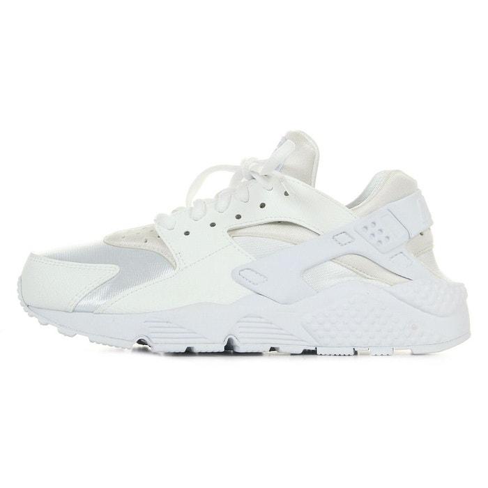 Basket air huarache run blanc Nike