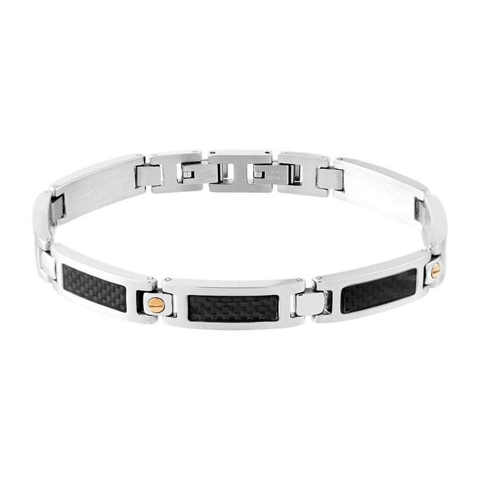 délogeant Jeu Authentique Bracelet male acier argente Male | La Redoute MmeSx