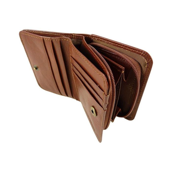 petit mini portefeuille monnaie double face en cuir de. Black Bedroom Furniture Sets. Home Design Ideas