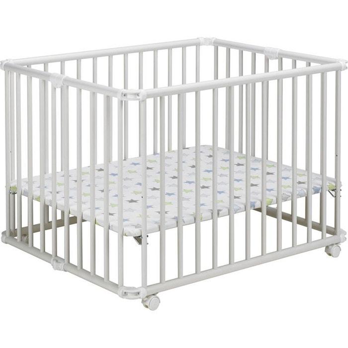 parc a jouet lucy lucilee pliable blanc tapis etoile 94. Black Bedroom Furniture Sets. Home Design Ideas