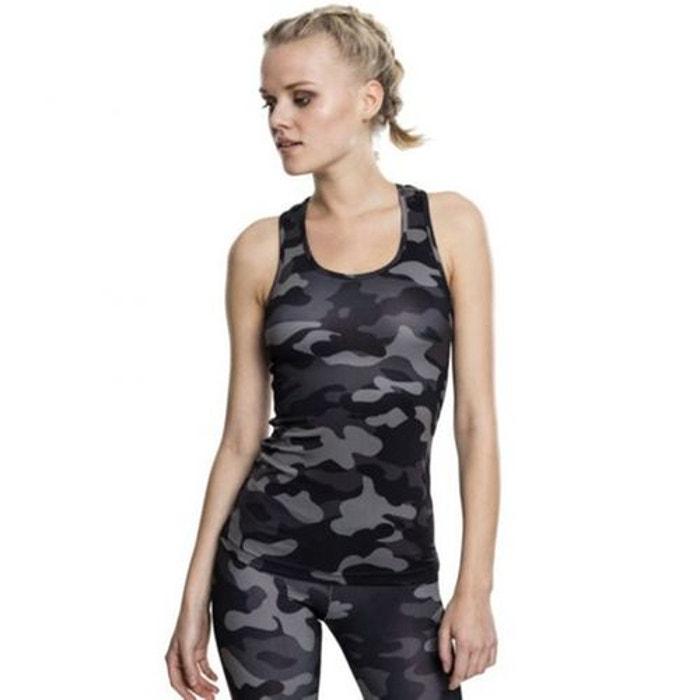 e147138132150 Débardeur sport fitness camo camouflage Urban Classics   La Redoute