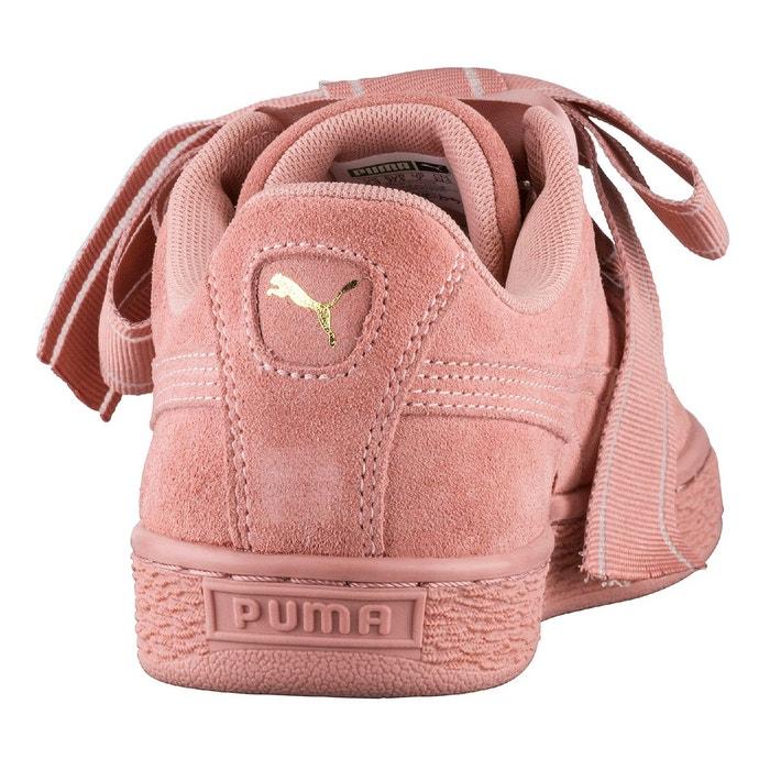 Basket heart satin ii wns rose Puma