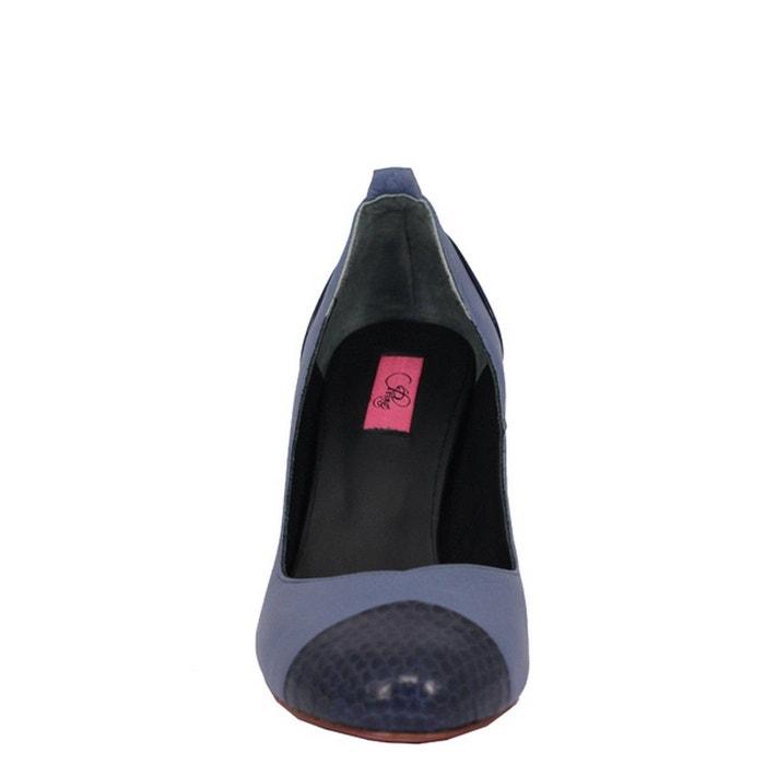 Chaussures femme en cuir nirita red - purple Pring Paris