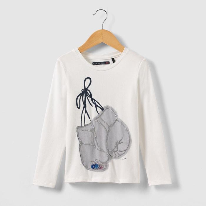 Image T-shirt manches longues Gants de boxe 3-14 ans IKKS JUNIOR