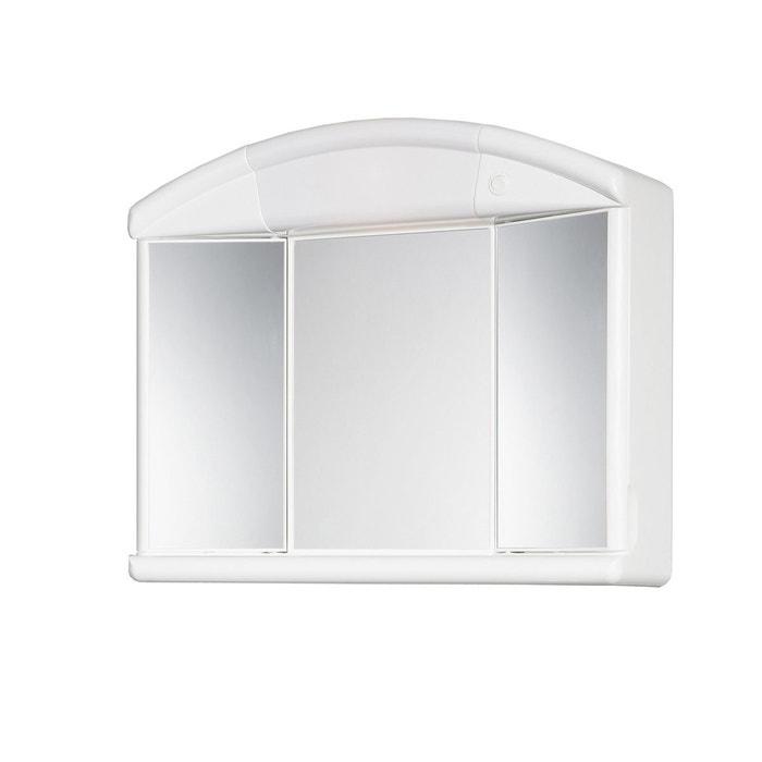 armoire de toilette naty blanc allibert la redoute