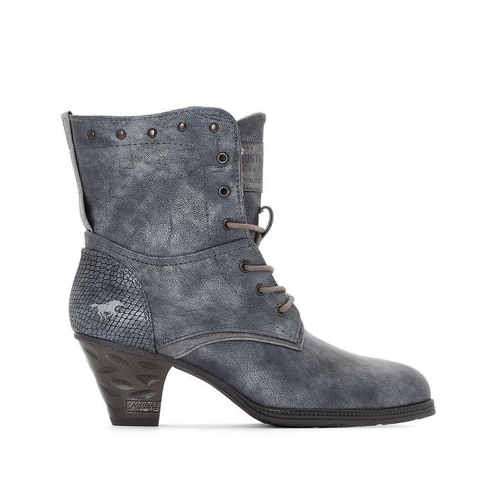 Boots à talon  bleu marine Mustang Shoes  La Redoute