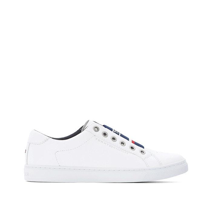 9b58ad56727 Zapatillas de piel venus 8c1 blanco Tommy Hilfiger