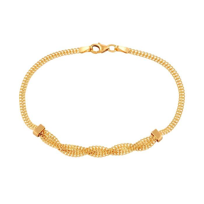 Bracelet en or 375/1000 jaune jaune Cleor   La Redoute Acheter En Vente En Ligne braderie zEm0APFtIT