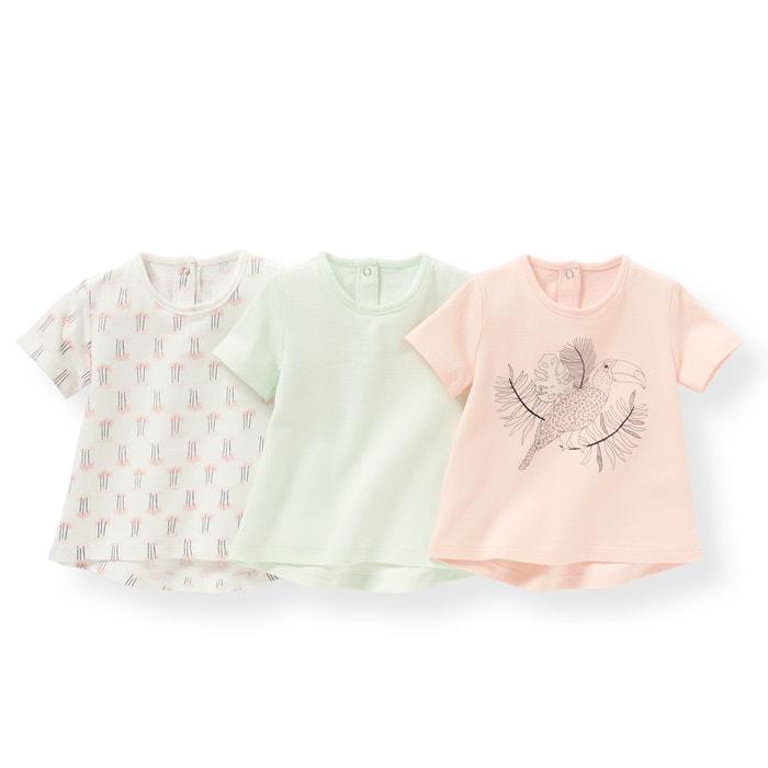 Image T-shirt manches courtes (lot de 3) 1 mois-3 ans R édition