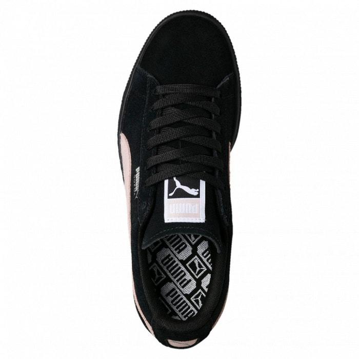 Baskets w suede classic noir Puma