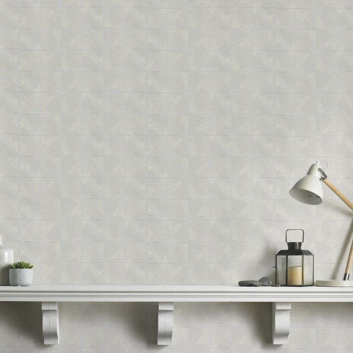 Tuiles Blanc Papier Peint Intisse 10 M X 52 Cm Blanc Graham Et Brown