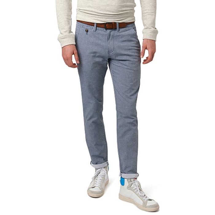 Image Pantalon chino en pur coton chiné TOM TAILOR