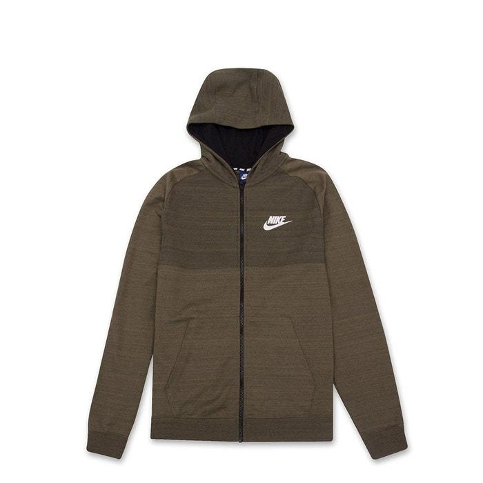 Sweat à capuche nike sportswear advance 15 full zip - 883025-222 vert Nike    La Redoute b2b06495a871