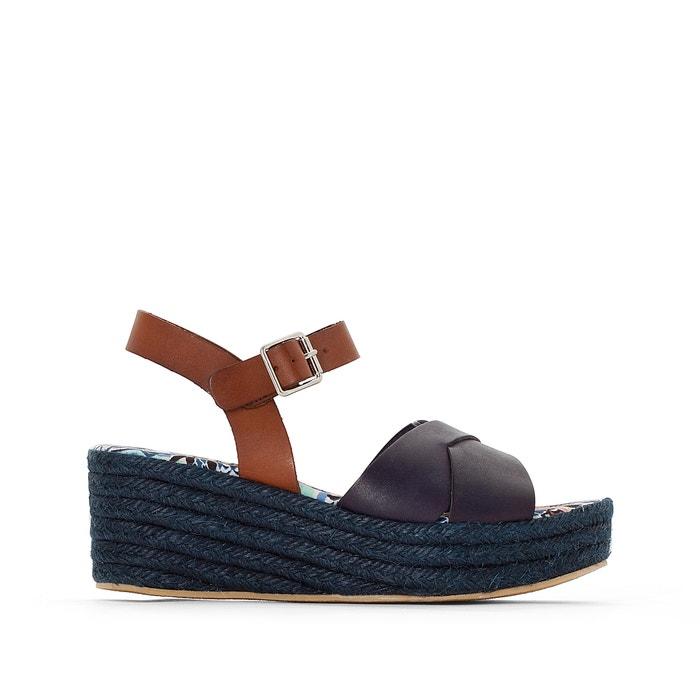 Sandálias de cunha, em pele, Eliza  PARE GABIA image 0