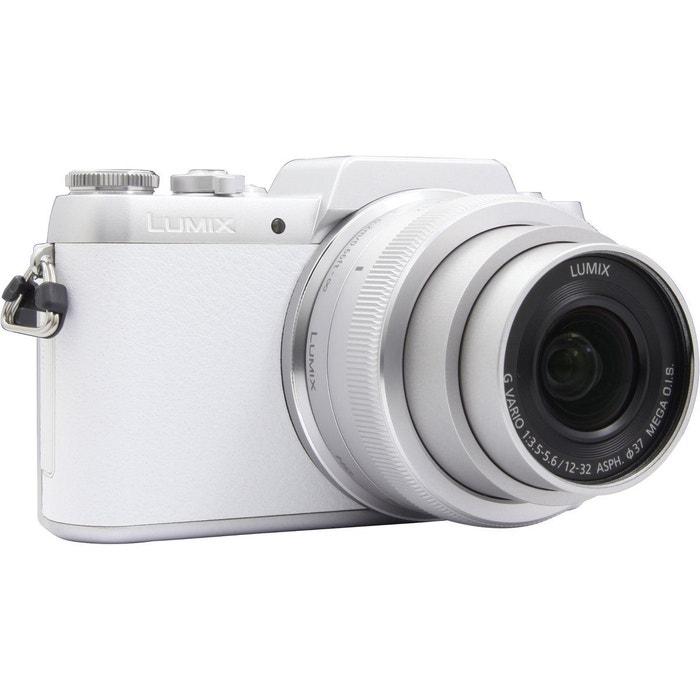 appareil photo hybride panasonic dmc gf7 blanc 12 32mm. Black Bedroom Furniture Sets. Home Design Ideas