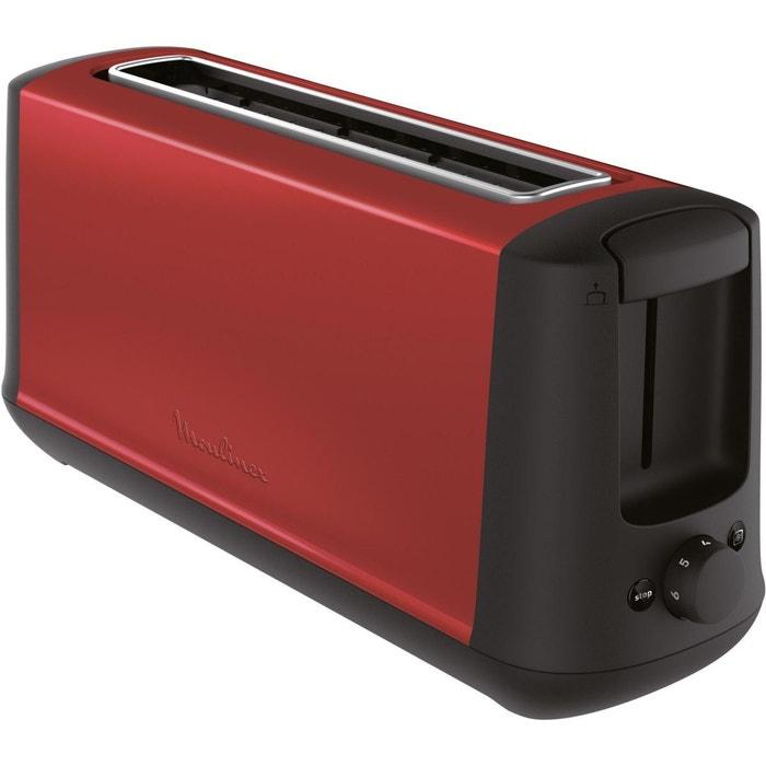 grille pain moulinex ls340d11 subito rouge couleur unique moulinex la redoute. Black Bedroom Furniture Sets. Home Design Ideas