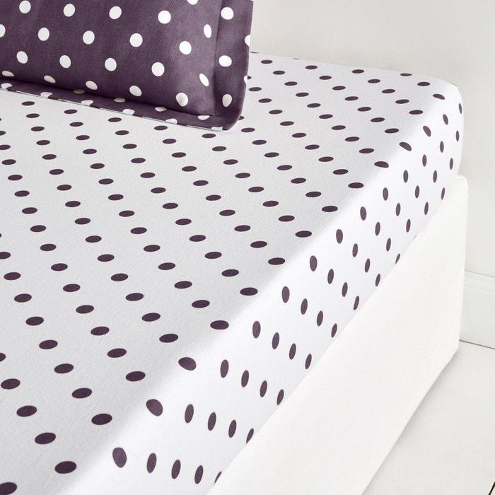 drap housse flanelle clarisse la redoute interieurs la. Black Bedroom Furniture Sets. Home Design Ideas