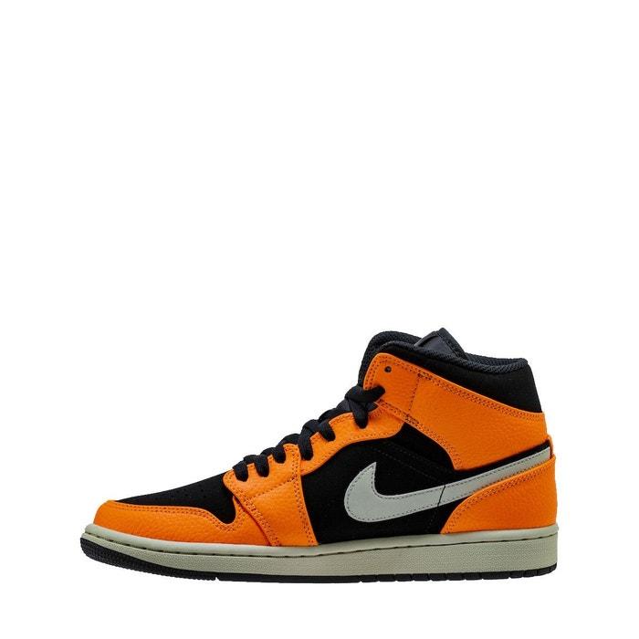 new style 01827 532a2 Basket nike air jordan 1 mid - ref. 554724-062 orange Nike   La Redoute