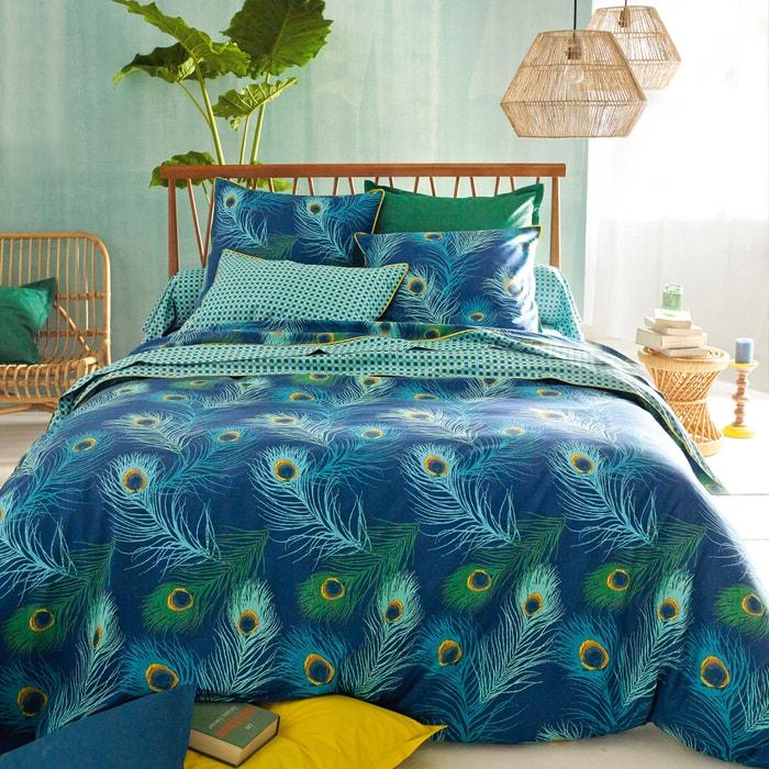 housse de couette percale de coton shakhra la redoute interieurs la redoute. Black Bedroom Furniture Sets. Home Design Ideas