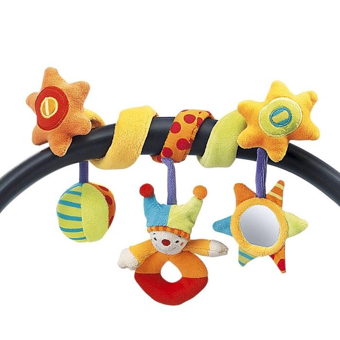 solini spirale d 39 activit clown jouet pour poussette. Black Bedroom Furniture Sets. Home Design Ideas