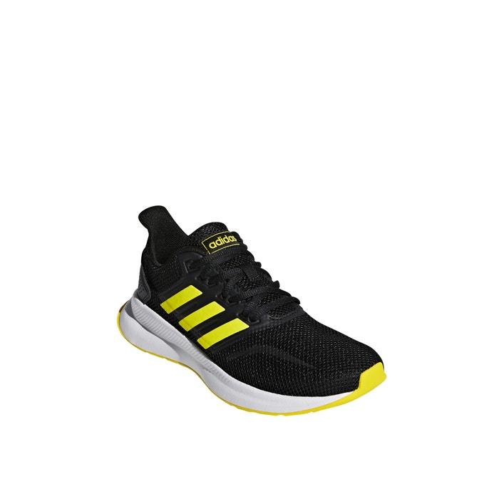 Sneakers runfalcon zwartfluogeel Adidas Performance | La