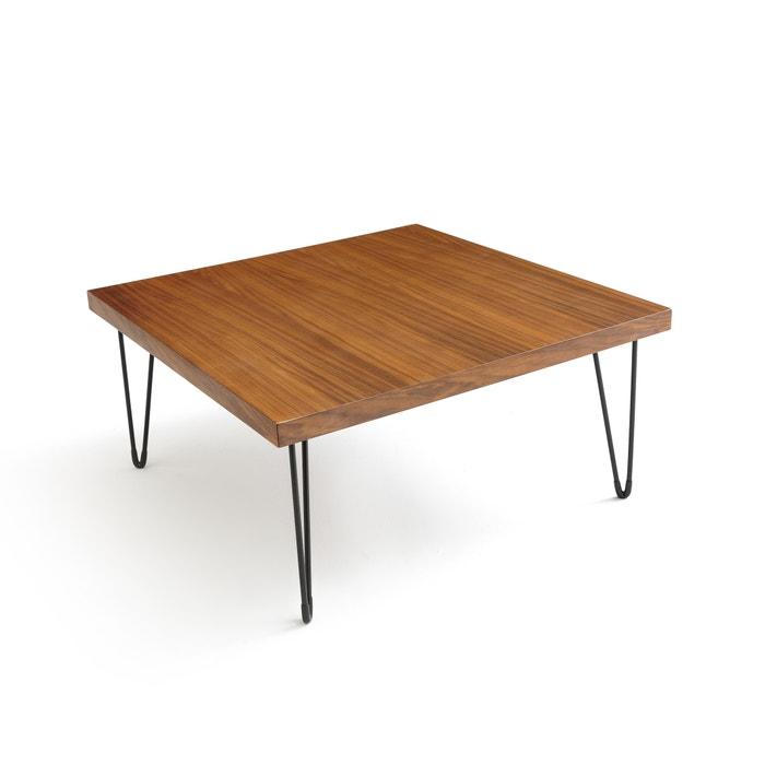 Mesa de centro quadrada, vintage, em nogueira, WATFORD  La Redoute Interieurs image 0