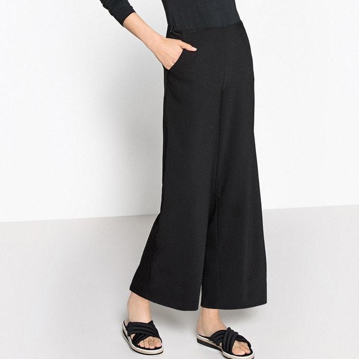 Pantalon large taille haute la redoute collections la redoute - Guide des tailles la redoute ...