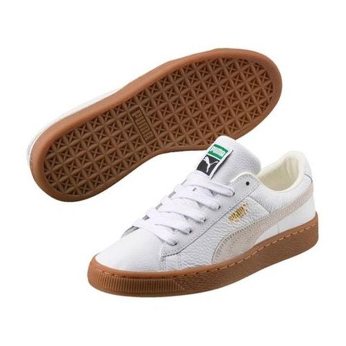 Chaussures avec semelle gum deluxe JR BASKET 37 Blanc VkaTXo