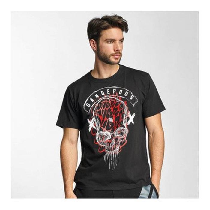 T-shirt Dangerous DNGRS Noir Skull