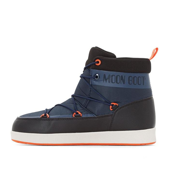 Boots neil noir/bleu Moon Boot