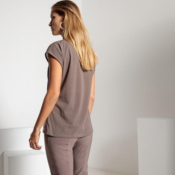 ligero punto tejidos ANNE dos de con Camiseta WEYBURN estampada wBxnfq6gX