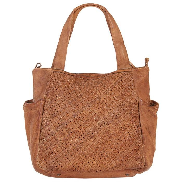 Sac shopping. cognac Forty °   La Redoute Acheter Pas Cher Avec Paypal Hdu1URSI
