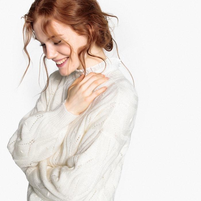 Pull scollo rotondo in maglia fine  La Redoute Collections image 0