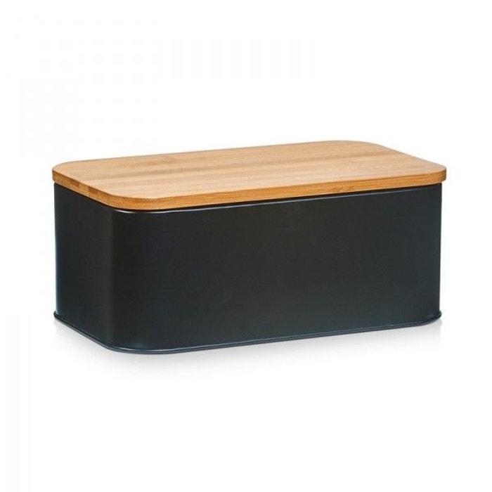 bo te pain design noire mat zeller multicolore zeller. Black Bedroom Furniture Sets. Home Design Ideas