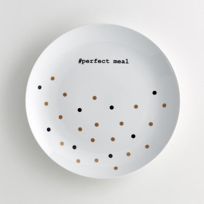 Image Plat de service rond en porcelaine, Kubler La Redoute Interieurs