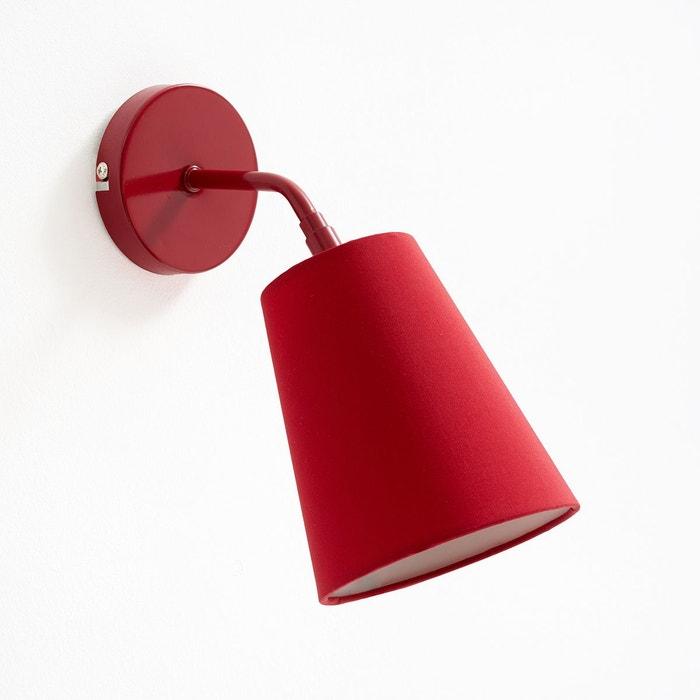 applique m tal pactus rouge la redoute interieurs la redoute. Black Bedroom Furniture Sets. Home Design Ideas