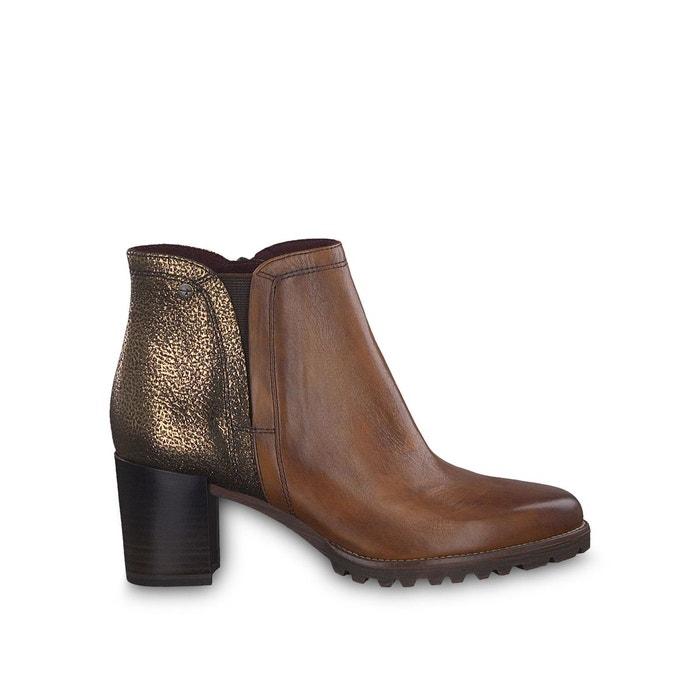 cuir à talon à Jilly Boots Jilly cuir Boots Boots à talon cuir JFcTlK1