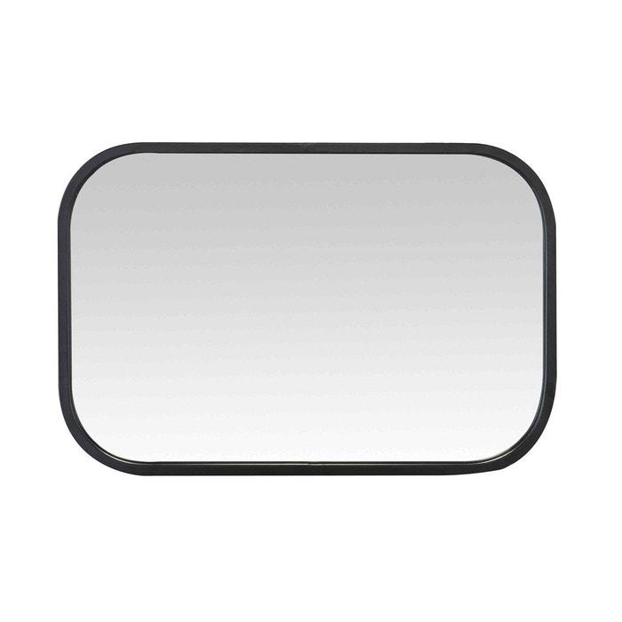Miroir atelier arrondi noir emde premium la redoute for Miroir emde deco