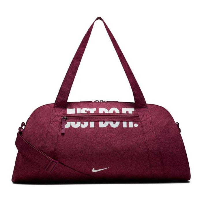 Gym club training duffel bag , burgundy, Nike